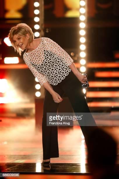 Carmen Nebel during the tv show 'Willkommen bei Carmen Nebel' at Velodrom on May 20 2017 in Berlin Germany