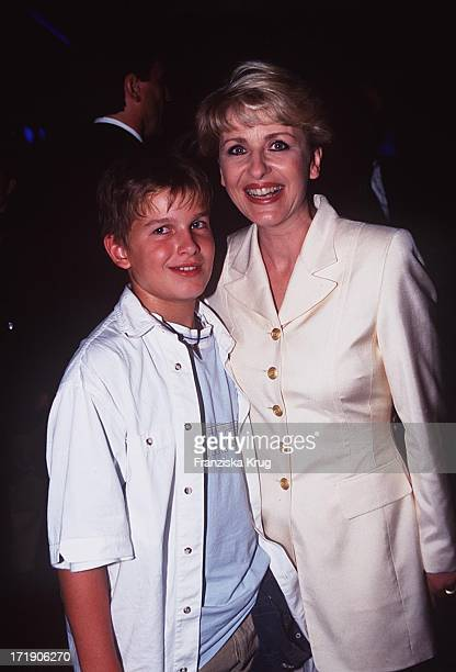 Carmen Nebel mit Sohn Gregor Bei ARD IFA Gala