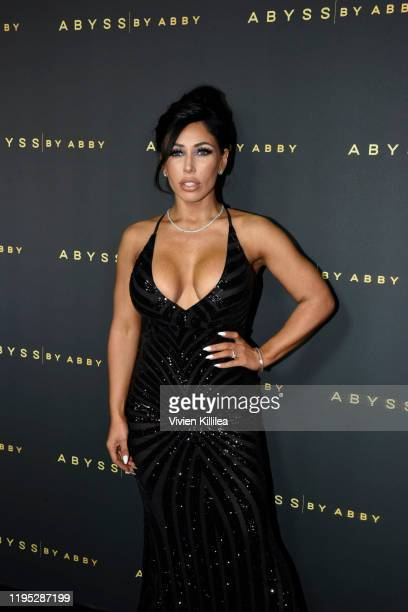 Carmen Ortega attends Abyss By Abby Arabian Nights Collection Launch Party at Casita Hollywood on January 21 2020 in Los Angeles California