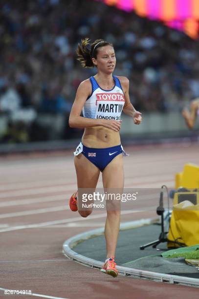 Carmen Patricia MARTÍNEZ Paraguay during 10000 meter final at London Stadium in London on August 5 2017 at the 2017 IAAF World Championships athletics