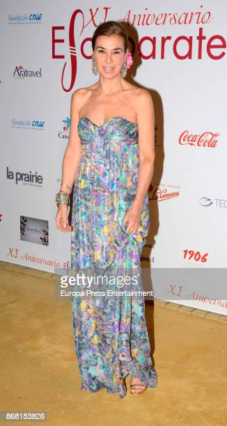 Carmen Posadas attends 2017 Escaparate Awards In Seville At Duenas Palace on October 27 2017 in Seville Spain