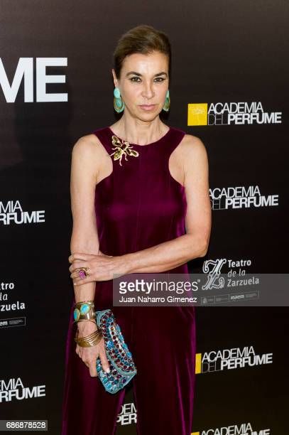 Carmen Posadas attends 'Academia del Perfume' awards 2017 at Teatro de la Zarzuela on May 22 2017 in Madrid Spain