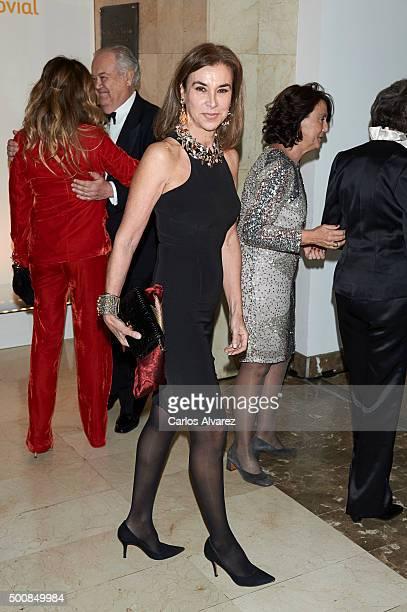 Carmen Posadas attends the Mariano De Cavia awards on December 10 2015 in Madrid Spain
