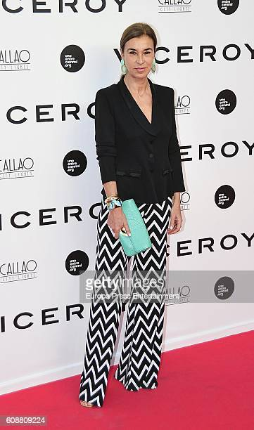 Carmen Posadas attends the premiere of 'Soy Uno Entre Cien Mil' directed by Penelope Cruz at Callao cinema on September 19 2016 in Madrid Spain