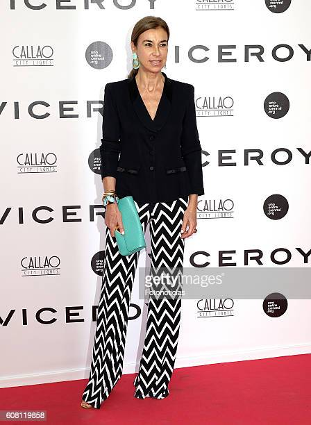 Carmen Posadas attends the 'Soy Uno Entre Cien Mil' premiere at Callao cinema on September 19 2016 in Madrid Spain