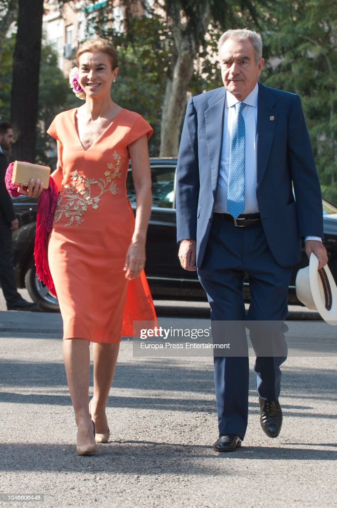 Fernando Fitz-James Stuart and Sofía Palazuelo Wedding in Madri : News Photo