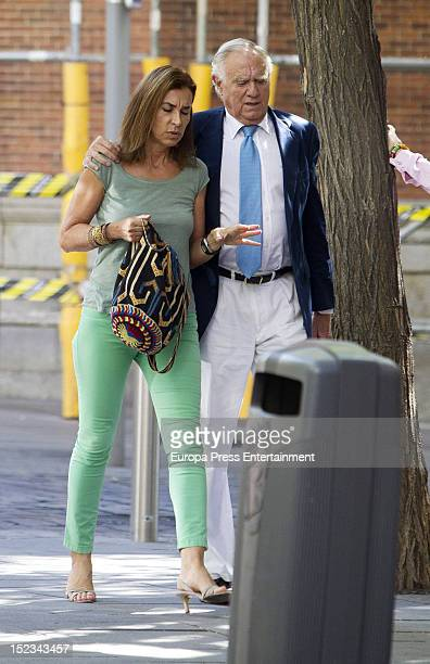 Carmen Posadas is seen on September 18 2012 in Madrid Spain
