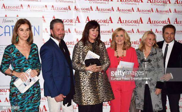 Carmen Posadas Timothy McKeague Carmen Martinez Bordiu Nieves Herrero Almudena de Arteaga and Albert Castillon attend the presentation of the book...