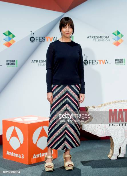 Carmen Ruiz attends El Matadero photocall at Palacio de Congresos Europa during the FesTVal 2018 on September 7 2018 in VitoriaGasteiz Spain