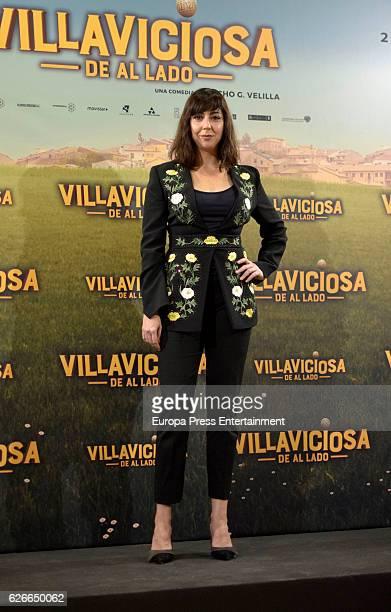 Carmen Ruiz attends 'Villaviciosa de al lado' photocall at Palacio de los Duques hotel on November 29 2016 in Madrid Spain