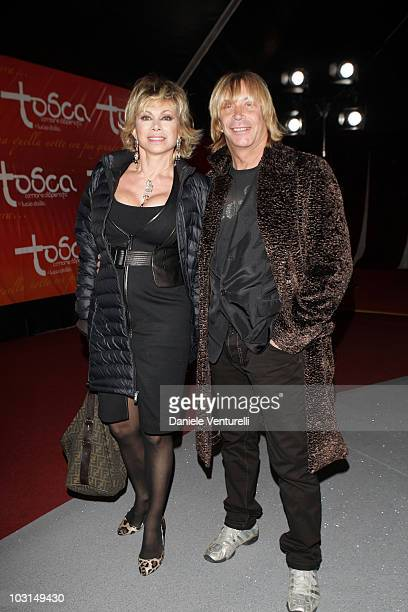 WEEKS Carmen Russo and Enzo Paolo Turci attend the 'Tosca amore disperato' at the Gran Teatro Theatre on December 11 2009 in Rome Italy