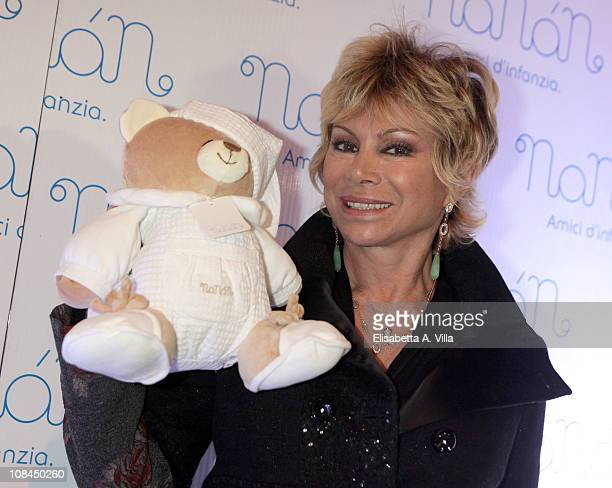 Carmen Russo attends the Nanan Flagship Store Opening on January 27 2011 in Rome Italy