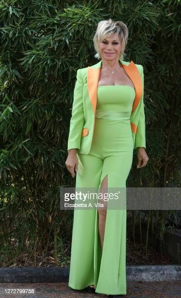 Carmen Russo attends the press conference of the show Tale e Quale Show on September 16 2020 in Rome Italy
