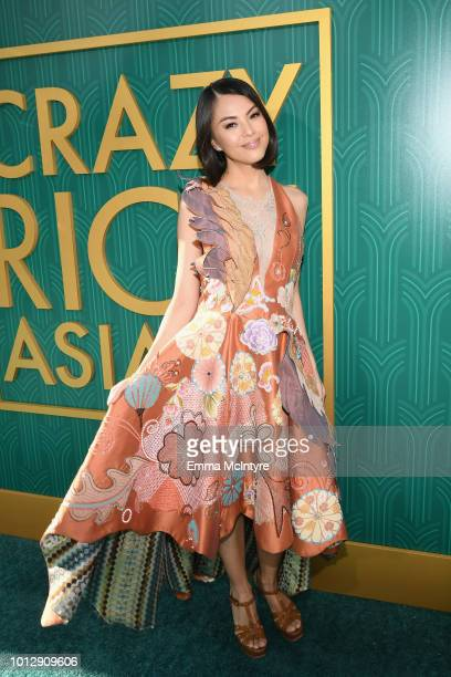 Carmen Soo arrives at Warner Bros Pictures' Crazy Rich Asians Premiere at TCL Chinese Theatre IMAX on August 7 2018 in Hollywood California
