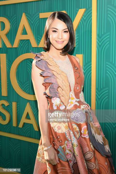Carmen Soo arrives at Warner Bros Pictures' 'Crazy Rich Asians' Premiere at TCL Chinese Theatre IMAX on August 7 2018 in Hollywood California
