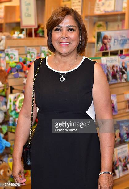 Carmen Surillo attends the La La Anthony The Power Playbook book signing at Barnes Noble on May 8 2015 in Atlanta Georgia