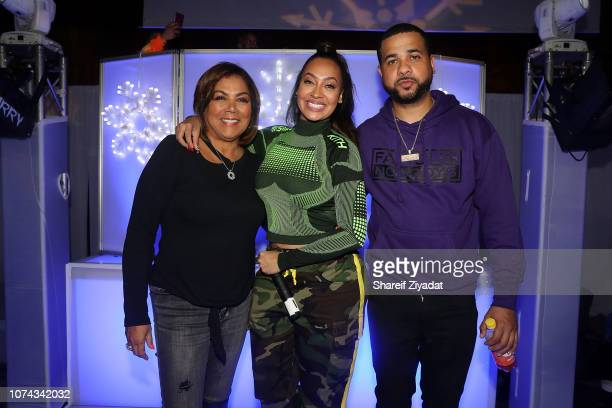 Carmen Surillo La La Anthony and Christian Vazquez attends 3rd Annual Winter Wonderland Holiday Charity Event Hosted By La La Anthony at Gauchos Gym...