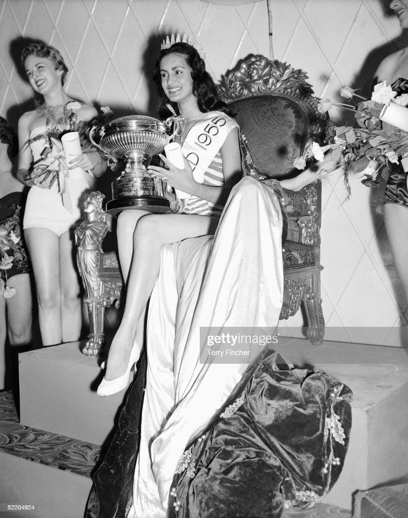 Miss World 1955 : News Photo