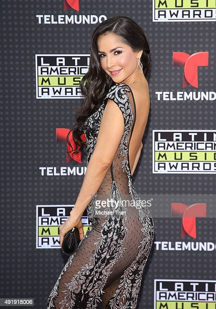 Carmen Villalobos arrives at the Latin American Music Awards 2015 held at Dolby Theatre on October 8 2015 in Hollywood California
