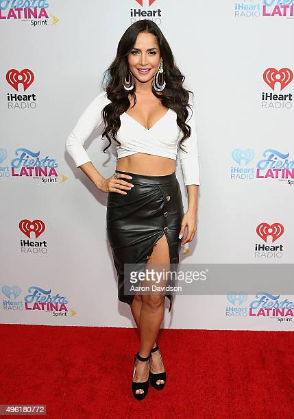 Carmen Villalobos attends iHeartRadio Fiesta Latina presented by Sprint at American Airlines Arena on November 7, 2015 in Miami, Florida.