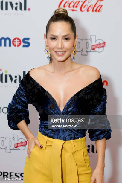 Carmen Villalobos attends People en Español 6th Annual Festival To Celebrate Hispanic Heritage Month - Day 1 on October 05, 2019 in New York City.