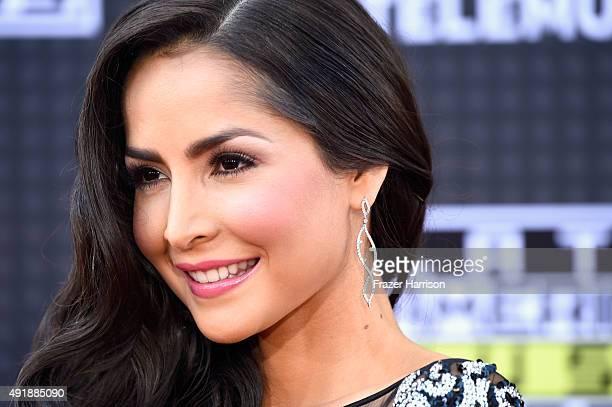 Carmen Villalobos attends Telemundo's Latin American Music Awards at the Dolby Theatre on October 8 2015 in Hollywood California