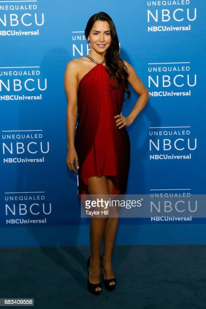 Carmen Villalobos attends the 2017 NBCUniversal Upfront at Radio City Music Hall on May 15, 2017 in New York City.