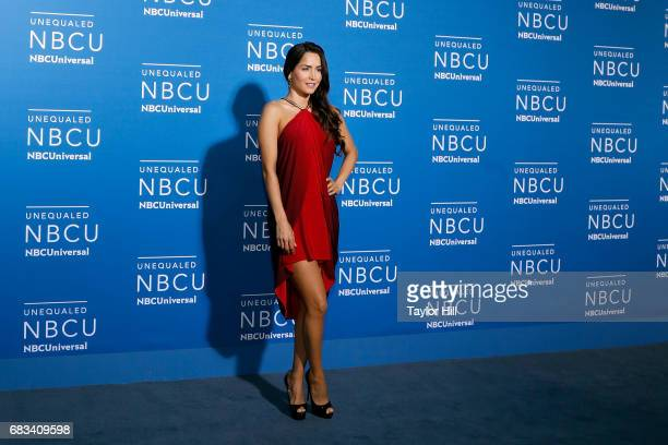 Carmen Villalobos attends the 2017 NBCUniversal Upfront at Radio City Music Hall on May 15 2017 in New York City