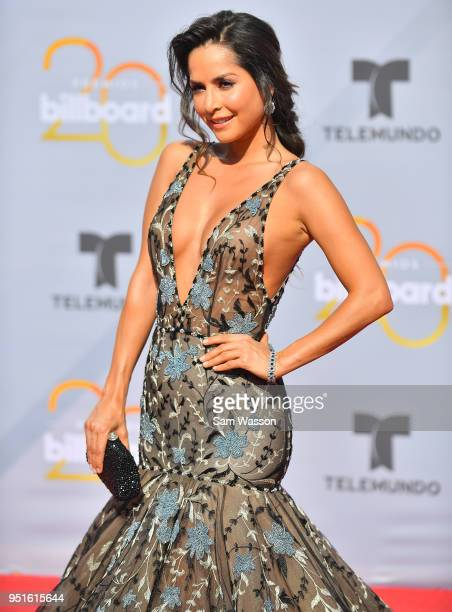 Carmen Villalobos attends the 2018 Billboard Latin Music Awards at the Mandalay Bay Events Center on April 26 2018 in Las Vegas Nevada