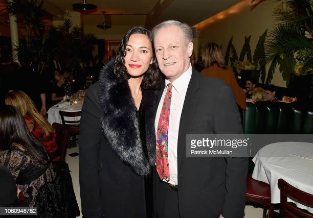 Carmen Zita and Patrick McMullan attend The Andy Warhol Museum's Annual NYC Dinner at Indochine on November 12 2018 in New York New York