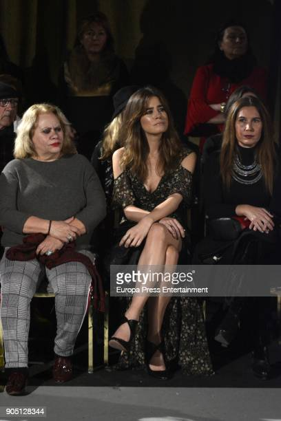 Carmina Barrios and Isabel Jimenez attend 'We love Flamenco 2018' on January 13 2018 in Seville Spain