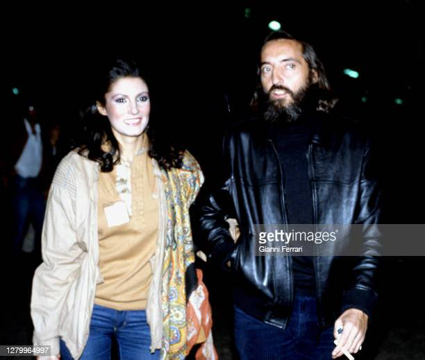 Carmina Ordoñez and Antonio Arribas, Marbella, Malaga, Spain, 1981. .