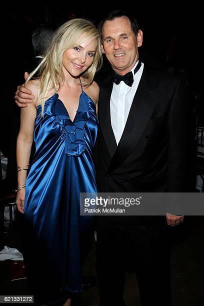Carmindy and Bernd Beetz attend The 2nd Annual DKMS Linked Against Leukemia Gala at Capitale on May 7 2008 in New York City