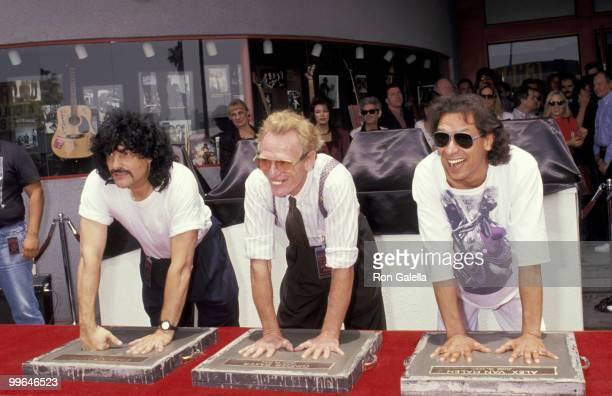 Carmine Appice Ginger Baker and Alex Van Halen