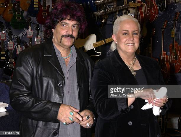 Carmine Appice with Grace Slick of Jefferson Airplane Jefferson Starship and Starship