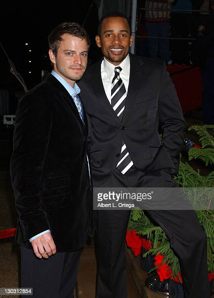 Carmine Giovinazzo and Hill Harper during 31st Annual People's Choice Awards Arrivals at Pasadena Civic Auditorium in Pasadena California United...