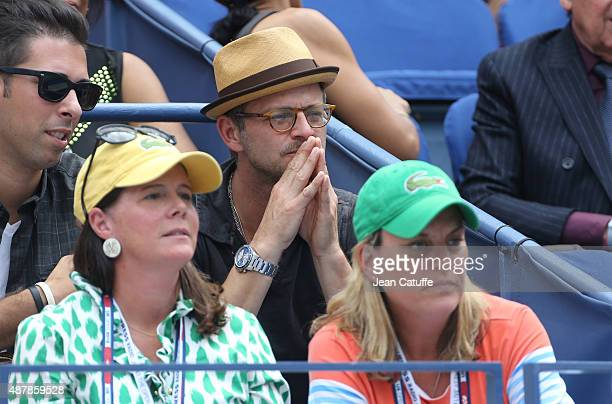 Carmine Giovinazzo attends day twelve of the 2015 US Open at USTA Billie Jean King National Tennis Center on September 11 2015 in the Flushing...