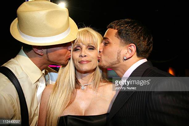 Carmine Gotti, Victoria Gotti and John Gotti during Ruff Ryders Host Carmine Gotti 21st Birthday Party at China Club in New York City, New York,...