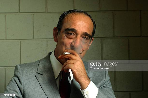 Carmine Persico boss of the Colombo Crime Family poses for a portrait September 15 1986 at the Metropolitan Correctional Center in New York City...