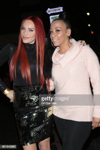 Carmit Bachar and Maryam are seen on January 4, 2018 in Los Angeles, CA.