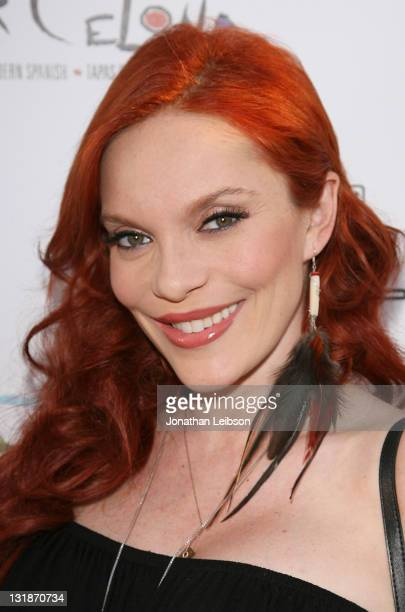 Carmit Bachar arrives to the Hillsides Foster Soles Benefit Kick Off Party at Bar Celona on April 27 2011 in Pasadena California