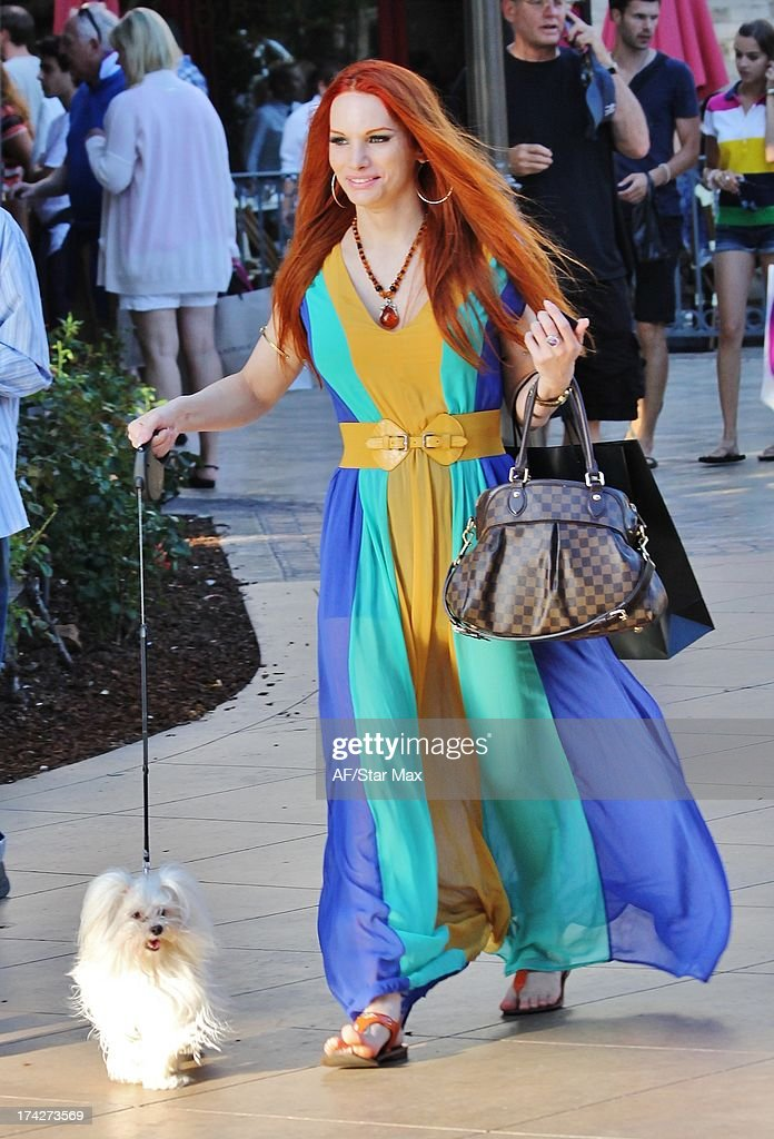Carmit Bachar as seen on July 22, 2013 in Los Angeles, California.
