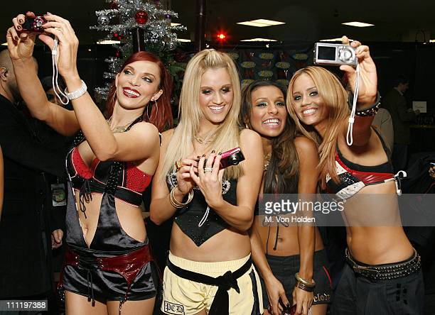 Carmit Bachar Ashley Roberts Melody Thornton and Kimberly Wyatt of The Pussycat Dolls