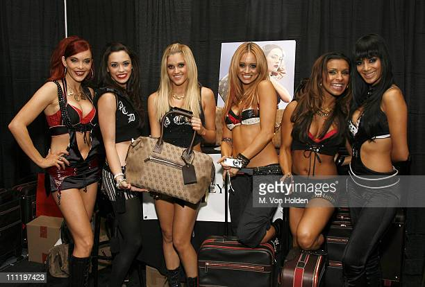 Carmit Bachar Ashley Roberts Melody Thornton Kimberly Wyatt and Nicole Scherzinger of The Pussycat Dolls