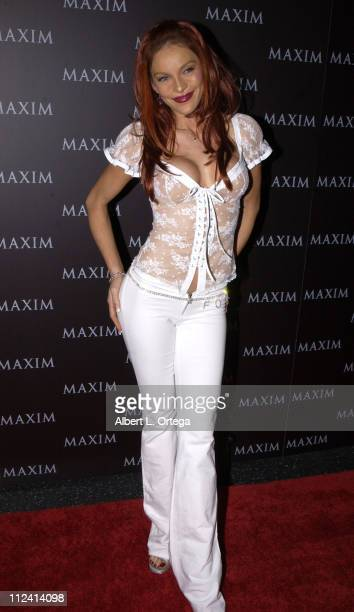 Carmit Bachar during Live Performance by The Pussycat Dolls Hosted by Maxim Magazine Arrivals at The Henry Fonda Theater in Hollywood California...