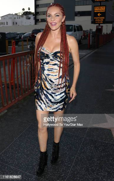 Carmit Bachar is seen on August 14, 2019 at Los Angeles.