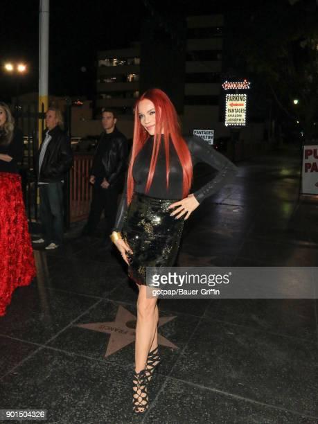 Carmit Bachar is seen on January 04, 2018 in Los Angeles, California.