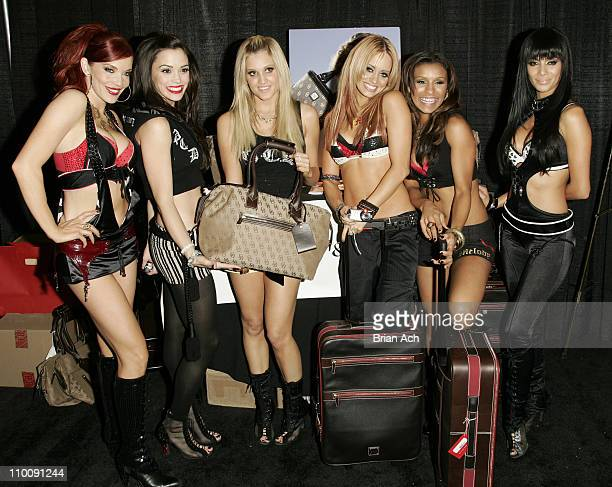 Carmit Bachar Jessica Sutta Ashley Roberts Kimberly Wyatt Melody Thornton and Nicole Scherzinger of The Pussycat Dolls