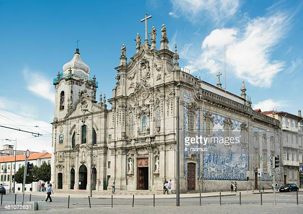 carmo church and the carmelite church - carmelite order stock pictures, royalty-free photos & images