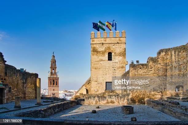 carmona skyline - andalusia, spain - carmona fotografías e imágenes de stock